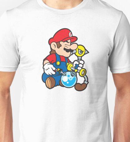 Super Stoned Mario Unisex T-Shirt