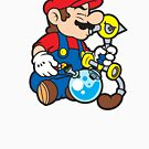 Super Stoned Mario by StrainSpot