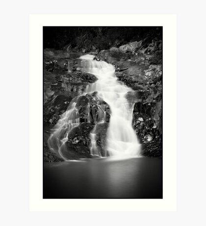 Falls on cedar creek Art Print