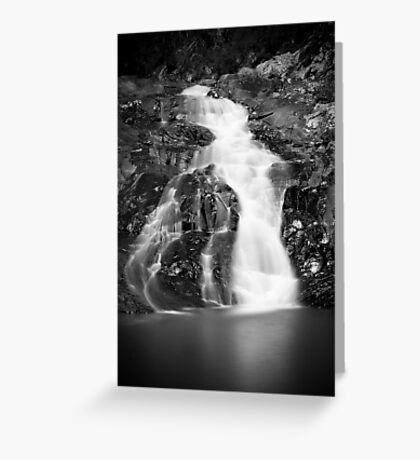 Falls on cedar creek Greeting Card