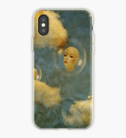 Living in a bubble iPhone Case