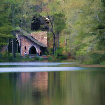 Chapel by the Lake by sherryk