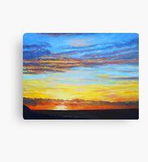Indian Ocean Sunset Leinwanddruck