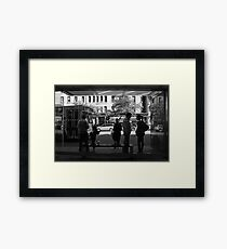 Saturday afternoon 106th Street, NYC Framed Print