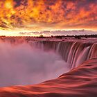 Horseshoe Falls at sunrise by (Tallow) Dave  Van de Laar