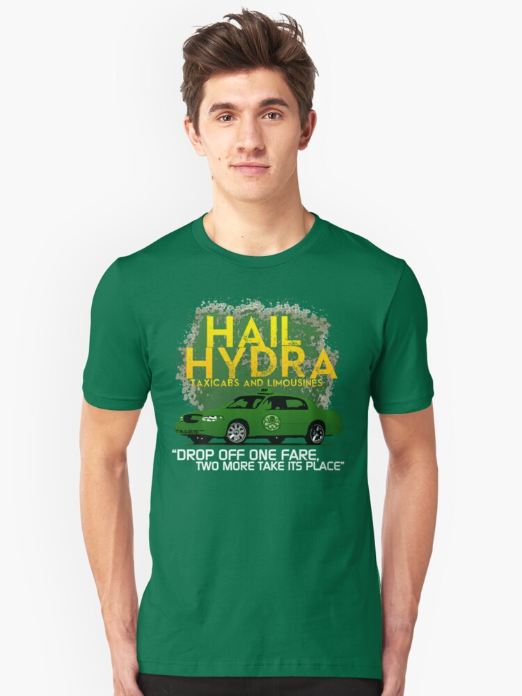 Need a Lift? Hail Hydra! Unisex T-Shirt Front