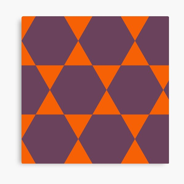 Orange and Purple Daze Canvas Print