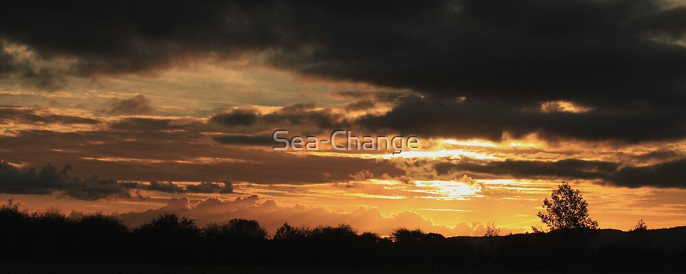 Golden Sunset by Sea-Change