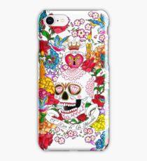 El Dia de Los Muertos iPhone Case/Skin