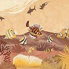 Sea Life - Wood Art by Vincent Doan