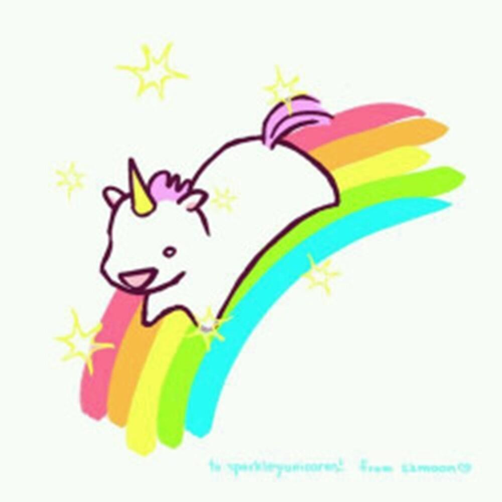 Cute Unicorn by nevertoolatexx