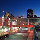 Montreal Science Center with Skyline by Schuyler L