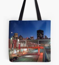 Montreal Science Center with Skyline Tote Bag