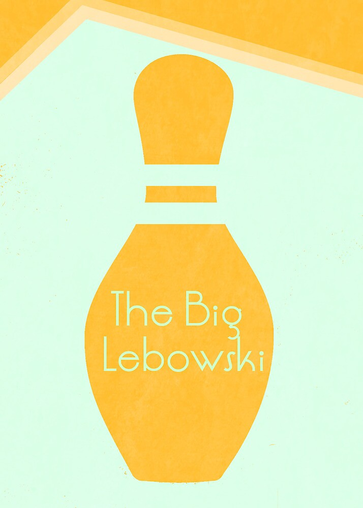 The Big Lebowski: Minimal Poster by Hunterdnrc