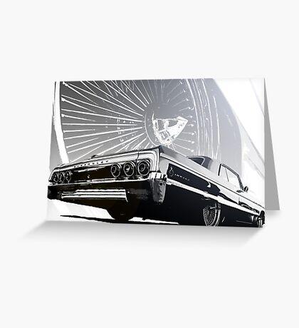 Impala Poster Greeting Card