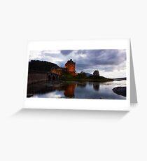 Eilean Donan Castle - Loch Duich Greeting Card