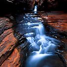 Whirlpool - Hancock Gorge - Karijini NP by Matt  Streatfeild