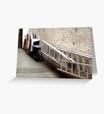 LONDON CREVICES  Greeting Card
