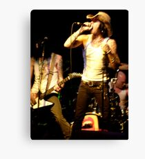 LONDON NIGHT 22 MONEY SHOT - EAT THE MICROPHONE Canvas Print