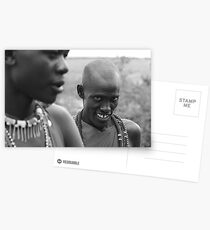 Maasai Warriors  Postkarten