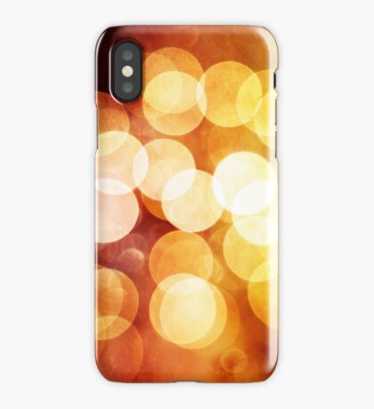 Bokeh Highlights iPhone Case