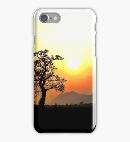 Sunset Scottish Hills iPhone Case/Skin