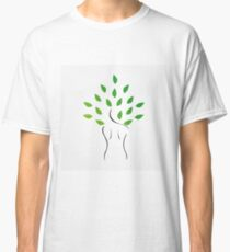 Skin and hair treatment with organic products Classic T-Shirt