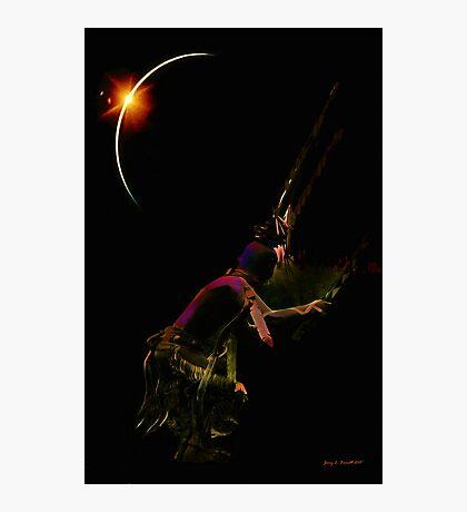 Indian Warrior Photographic Print
