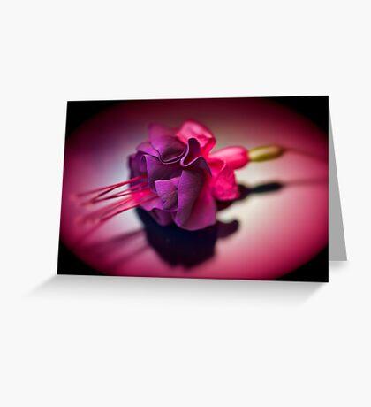 Dark Beauty Greeting Card