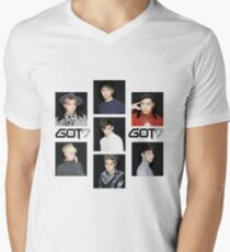 Got7 Men's V-Neck T-Shirt