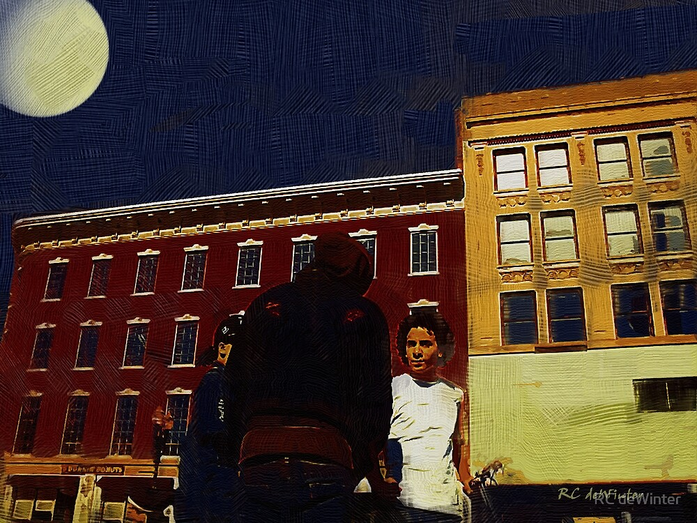 Midnight Meeting by Moonlight by RC deWinter