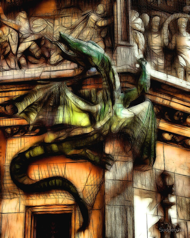 Medievil Dragon by SuddenJim