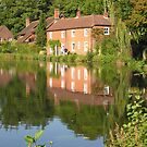 Cottages on Itchen Navigation, for iPhone by Philip Mitchell