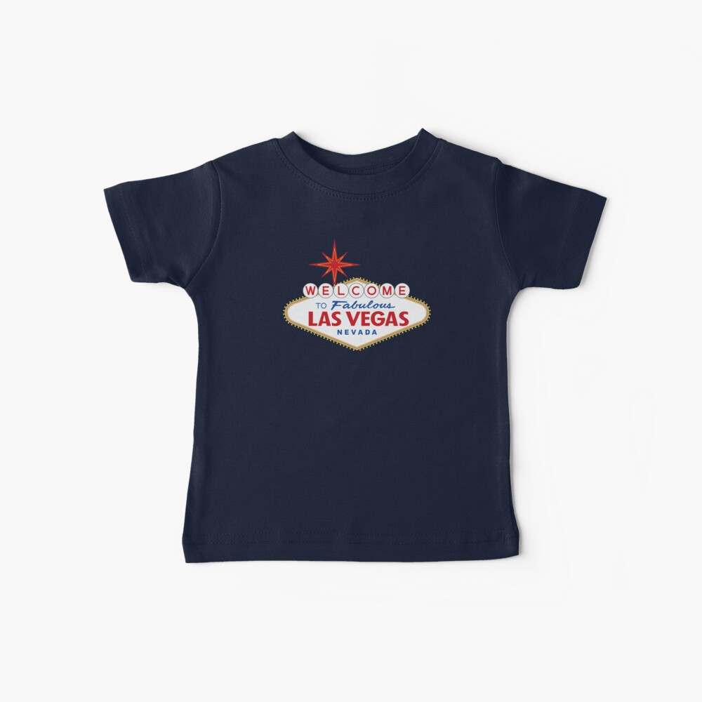 Welcome to Fabulous Las Vegas Sign Baby T-Shirt