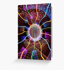 Multiphasal Chromoluminance Greeting Card