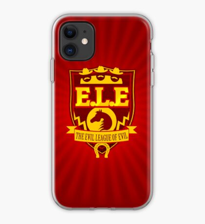 ELE- The Evil League of Evil Funda iPhone Vinilo o funda para iPhone