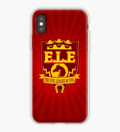 E.L.E- The Evil League of Evil iPhone Case iPhone Case