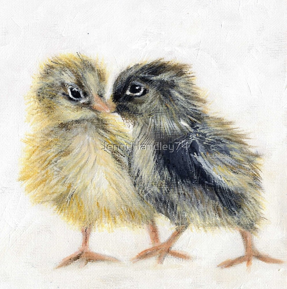 Wee Chicks by JennyHandley74