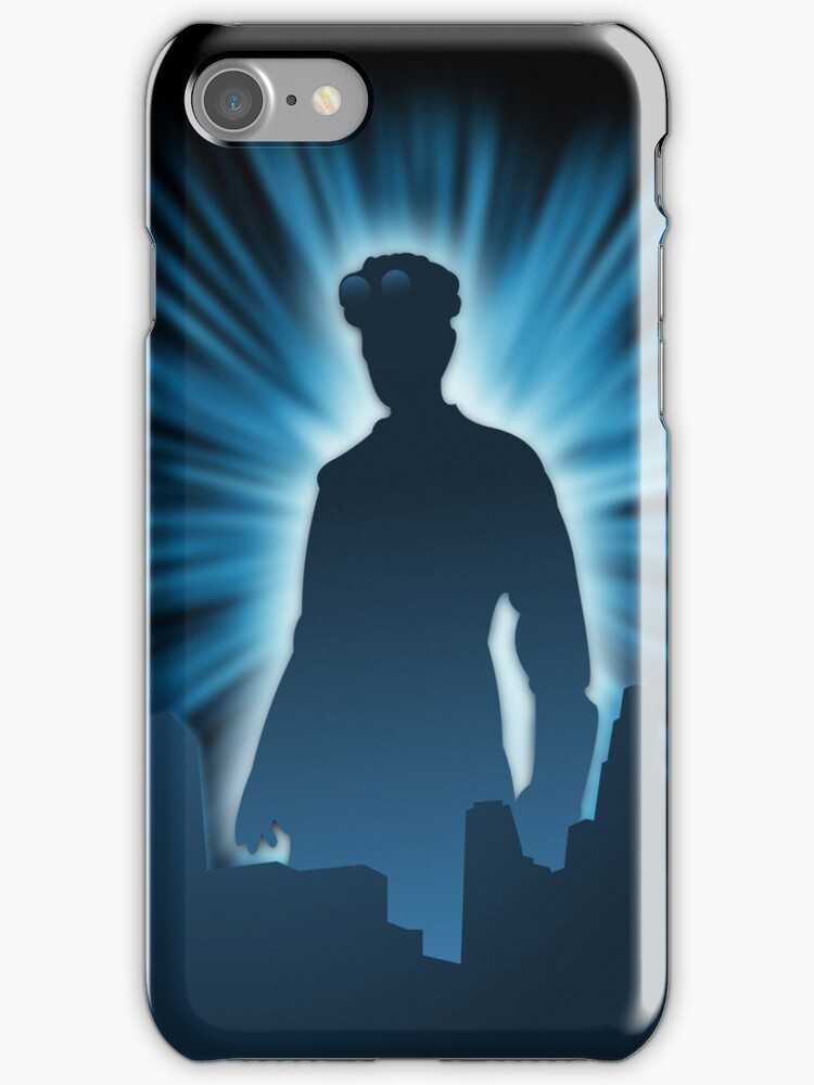 Doctor Horrible iPhone Case by Tom Trager