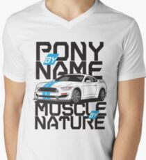 Ford Mustang GT350R V-Neck T-Shirt