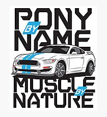 Ford Mustang GT350R Photographic Print