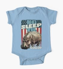 The Dollop - No Sleep Til Hippo (Clothing and Stickers) One Piece - Short Sleeve