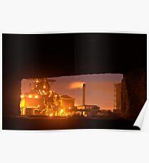 Blast furnace Poster