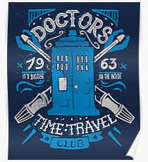 Doctors time travel club Poster
