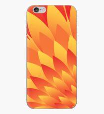 Firery Petals iPhone Case