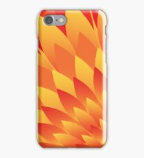Firery Petals iPhone Case/Skin