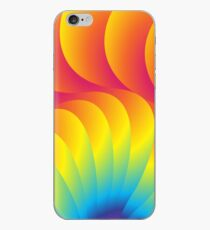 Rainbow Swirls iPhone Case