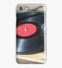 Turning Old Vinyl  iPhone Case/Skin