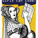 Ada Lovelace - Girls can code! by victorianstore
