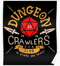 Dungeon Crawlers Club Poster